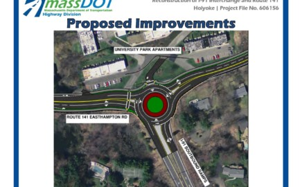 Mass DOT Proposed Reconstruction of I-91 Exit 17